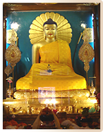 Stupa Ashoka à Bodhgaya - Pèlerinage Bouddhisme Inde Népal Amitabha Terre Pure