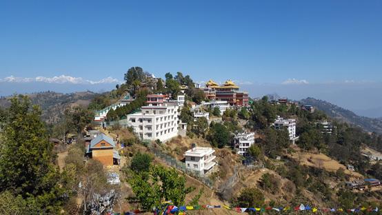 Namo Buddha - Pèlerinage Inde-Népal Amitabha VI 2017